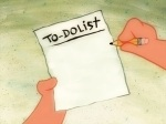 [Picture of a To Do List]